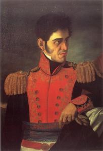 General Antonio López de Santa Anna. Wikipedia.