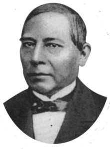 Don Benito Juárez. De P. Guelatao de Juárez en F.