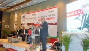 Javier Medina en Foro Análisis PRI 2015