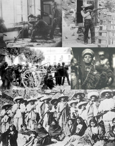Collage_revolución_mexicana. Wikipedia.