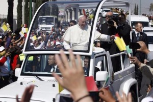 El Papa en México (del diario La Crónica)