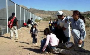 Inmigrantes mexicanos en EU.