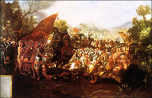 The_battle_of_Otumba. Wikipedia