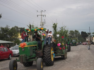 Desfile del elote