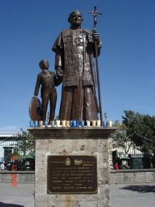 Estatuta a Juan Pablo II en Zapopan