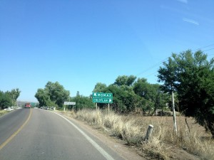 Carretera a Colotlán. De P. Tlaltenango Zacatecas en F