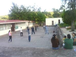 La escuela de El Malacate (Fotografía de Jaime Bañuelos).