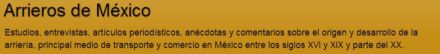 Arrieros de México